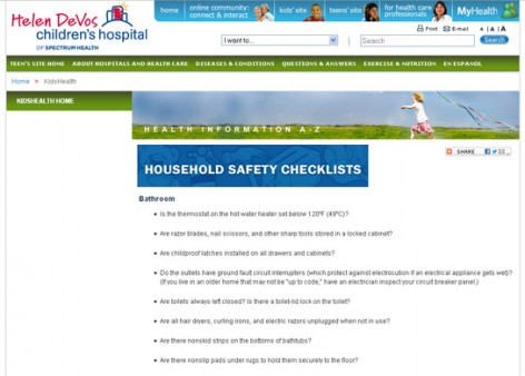 house and home safetymoment